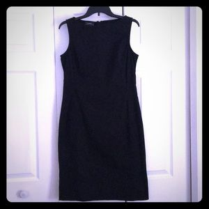 Ralph Lauren Black Cotton sheath dress